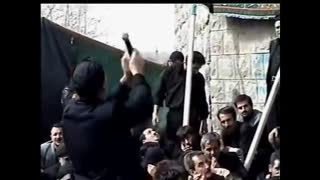 Incidents during Muharram processions - Iran - Video