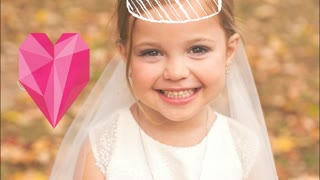 Adorable Wedding Photoshoot Of Young Children - Video