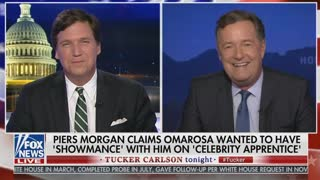 Piers Morgan Rips Omarosa: 'Poisonous Little Viper' - Video