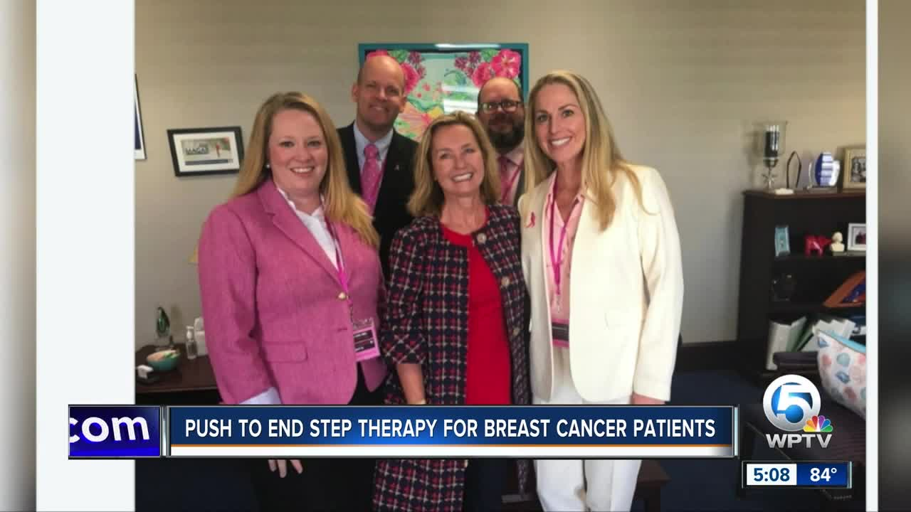 Push to end therapy for breast cancer patients