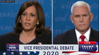 Vice President Pence Debating Kamala Harris and Susan Page