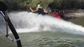 Guy gets knocked 