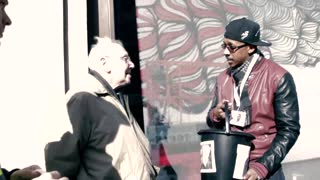 Kanye West fans go fundraising on the streets of London - Video