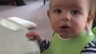 "Baby understands ""NO"" for the first time"