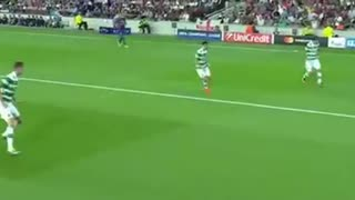 Andres Iniesta magic volley goal vs Celtic - Video