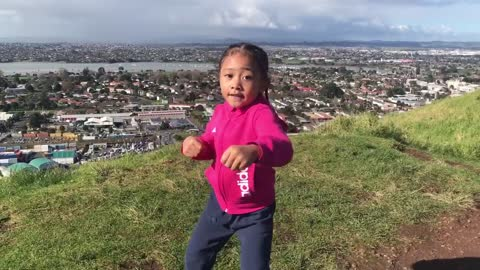 5-year-old boxer trains to become the best