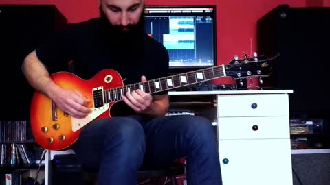 Talented musician brilliantly delivers guitar cover