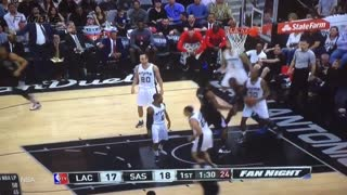 Patty Mills Tries to Guard CP3 with One Shoe, Fails Miserably - Video