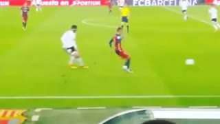 El cano de Neymar vs Barragán - Video