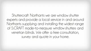 Shuttercraft Northants - Video
