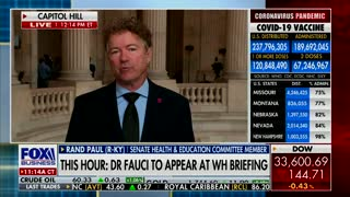 Dr. Rand Paul Says Dr. Fauci Should Not Be On TV Anymore After His Latest Claim