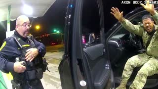 Officer who pepper-sprayed U.S. Army officer fired