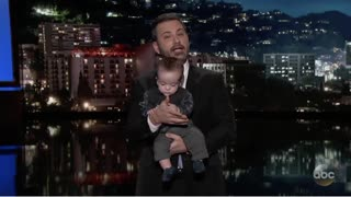 Jimmy Kimmel Brought His Baby onto Set After Heart Surgery - Video