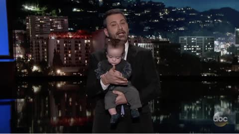 Jimmy Kimmel Brought His Baby onto Set After Heart Surgery
