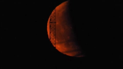 Red Moon Over Manitoba