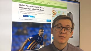 Shrewsbury Town update - September 14th - Video