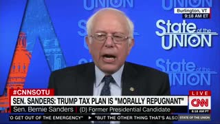 "Bernie Sanders ""Oh Crap"" Moment; Trump Tax Plan Will Help Middle Class"