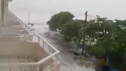 Incredible footage of Hurricane Patricia's disastrous impact