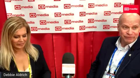 CDM At CPAC 2021: Debbie Aldrich With Oklahoma State Rep Jim Olsen