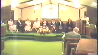 Special Service - Pastor's Appreciation Day, 1990