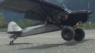 Zero Foot Airplane Landing - Video
