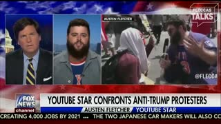 Tucker Carlson Interviews Austen Fletcher