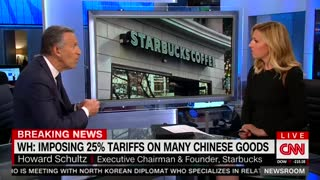 Starbucks Chairman Won't Rule Out 2020 Challenge To Trump - Video