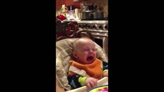 Baby Enjoys Mom's Singing, Cries When Dad Sings - Video