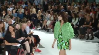 A forest grows under Galliano at Paris Fashion Week - Video