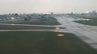 Ukraine Airplane Has Rough Landing