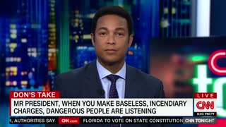 Man Arrested for Threatening to 'Gun Down' Everyone at CNN — And Don Lemon Blames Trump - Video