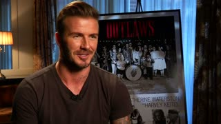David Beckham stars in new short film - Video