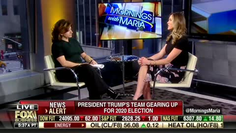 Lara Trump: 'Absolutely' POTUS Will Run for Re-Election, 'We're Raising a Ton of Money'