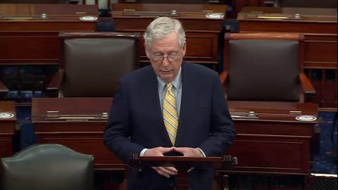 Sen. McConnell Calls Out The Liberal Infrastructure Power Grab
