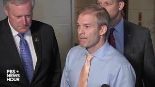 Rep. Jim Jordan speaks on Volker's testimony before Congress