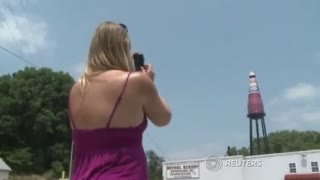 World's largest ketchup bottle for sale - Video