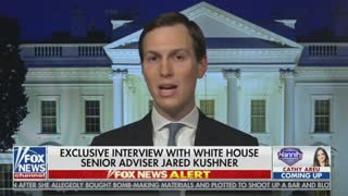 Kushner — Middle East Peace Plan To Be Released In A Couple Of Months