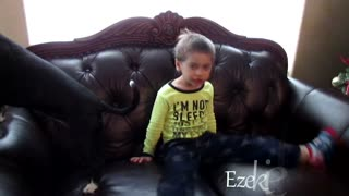 Four Year Old Singing Jingle Bells