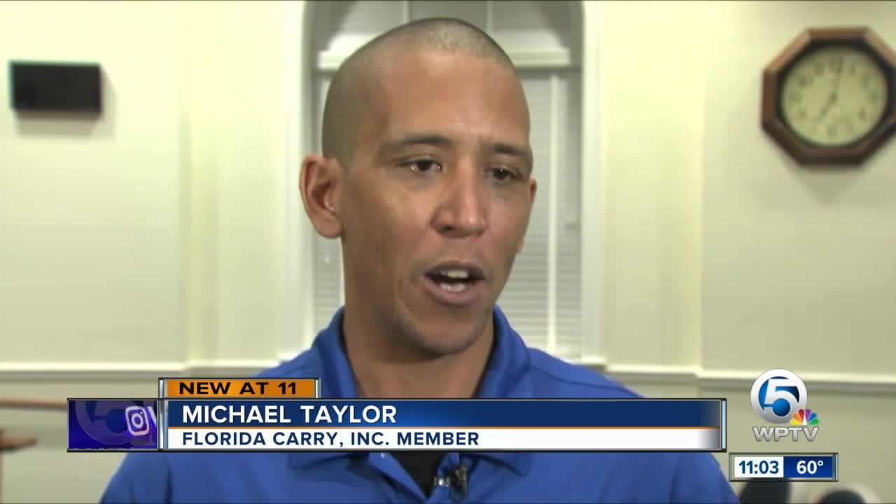 Palm Beach Police Chief defends efforts to change open carry law
