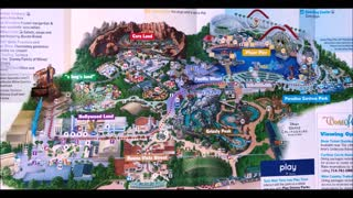 Disney California Adventure Maps Over the Years