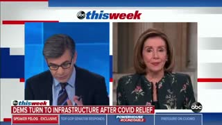 Discombobulated Pelosi Blames Trump For Broken Border System