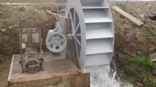 Water wheel power