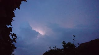 Electric storm  - Video