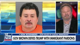 Man Whose Son Was Killed by Illegal Immigrant: CA Gov's Concern for Criminals Is 'Outrageous' - Video