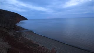 Time lapse shows dramatic Bay of Fundy tide change in only 5 hours - Video