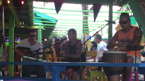 Joe Breheny Performs Dishwalla's Counting Blue Cars In Belize