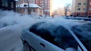 Too Cold For Windshield Washer Fluid! - Video