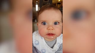 Check Out This Adorable Compilation Of Babies Making Funny Faces  - Video