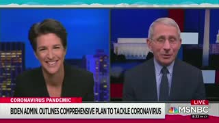 Fauci Gushes over Rachel Maddow