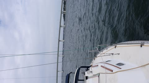 Sailing on the Saint Lucie River!